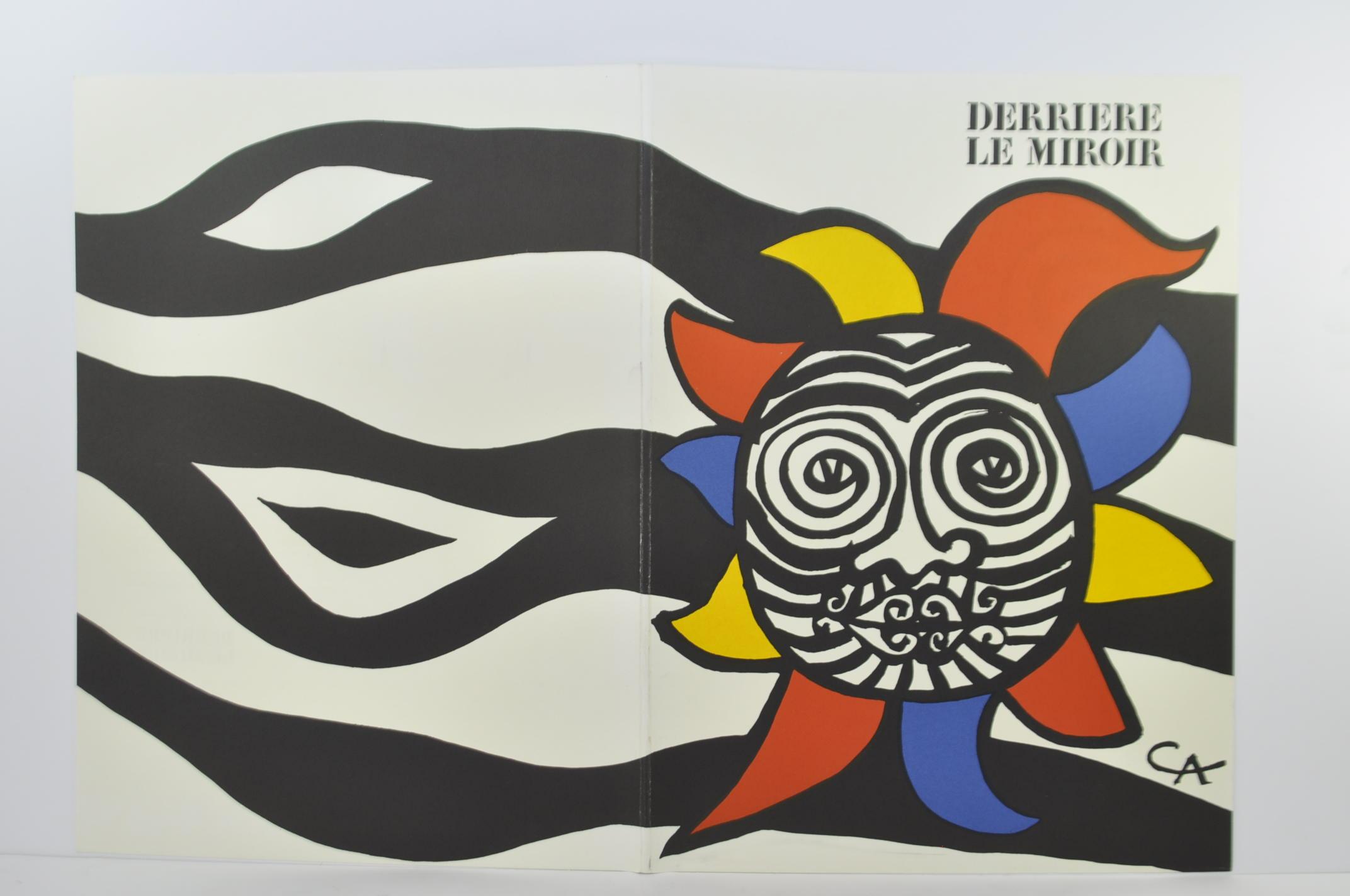 Alexander calder original lithograph derriere le miroir for Derriere le miroir calder